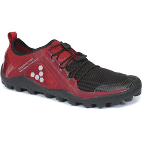 Vivobarefoot Primus Trail SG Mesh Shoes Men Black/Red